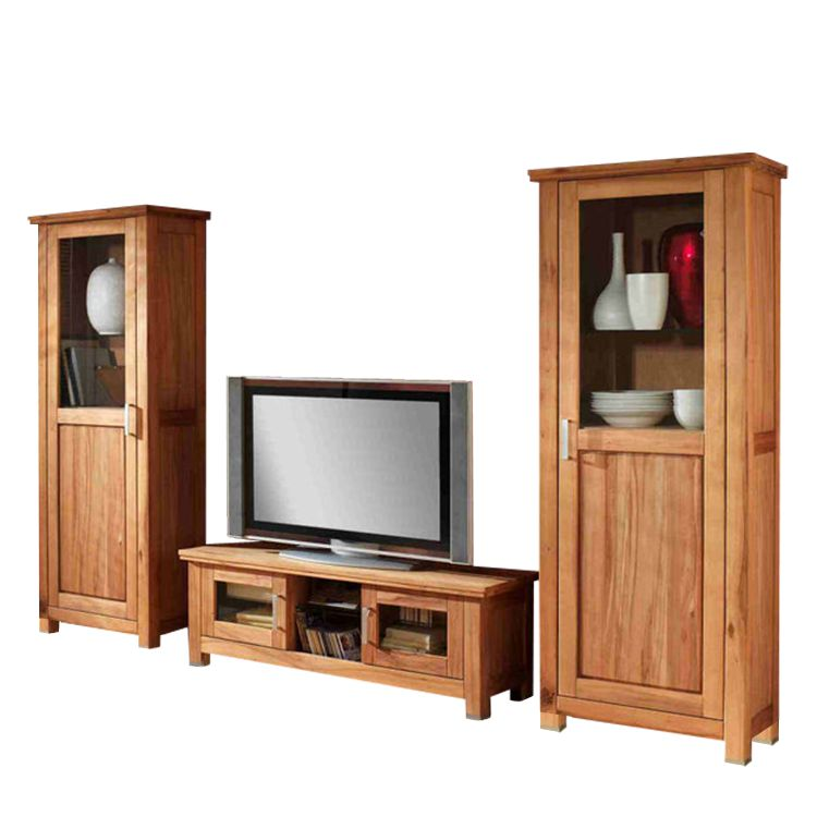 vitrinenschrank syrakus 1 t rig eiche massiv ge lt t r rechts angeschlagen. Black Bedroom Furniture Sets. Home Design Ideas