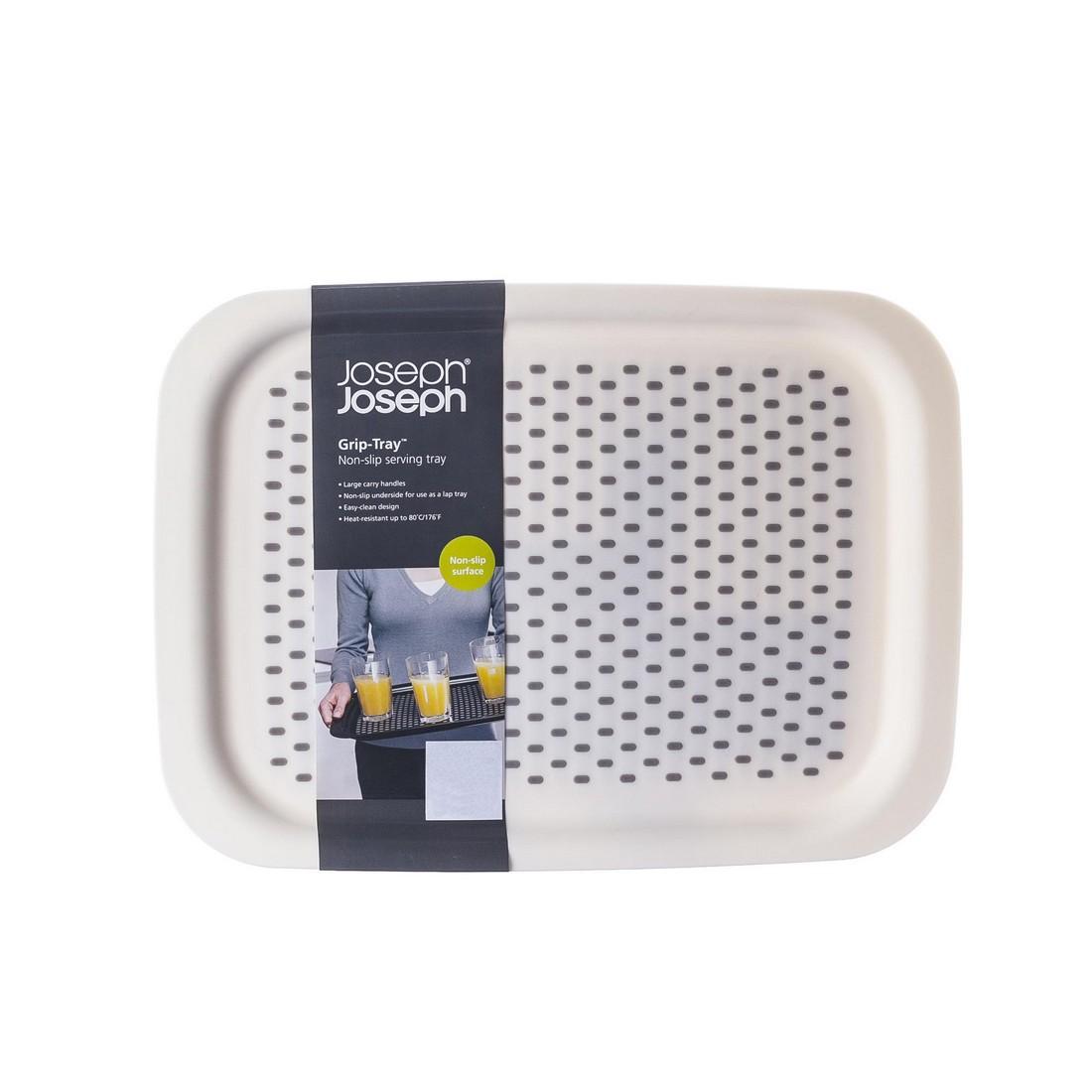 Tablett Grip Tray antirutsch – Kunststoff – Weiß, JOSEPH JOSEPH jetzt bestellen