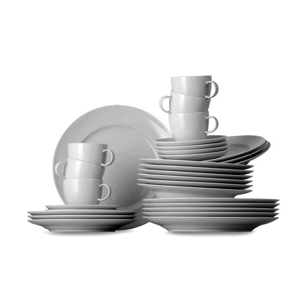 Tafel- und Teeservice Sunny Day ROK weiss 30 - Porzellan - Weiß Thomas