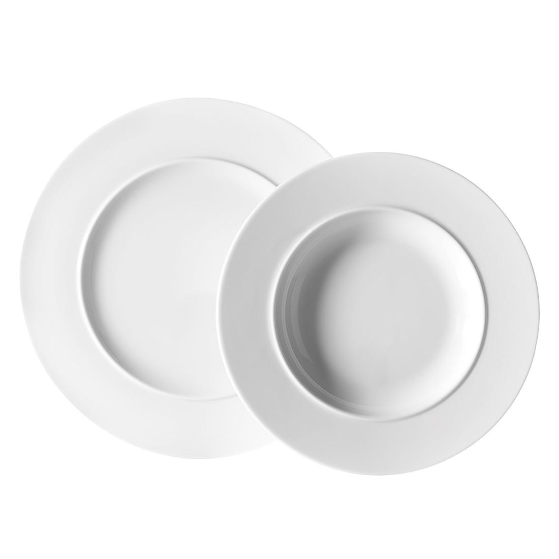 Tafelservice (8- teilig) Space – Porzellan/Weiss, Mäser kaufen