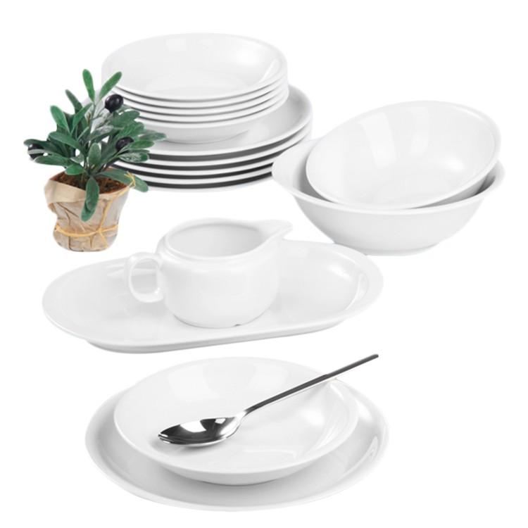 Tafelservice Compact (16-teilig) – Weiß, Seltmann Weiden online bestellen