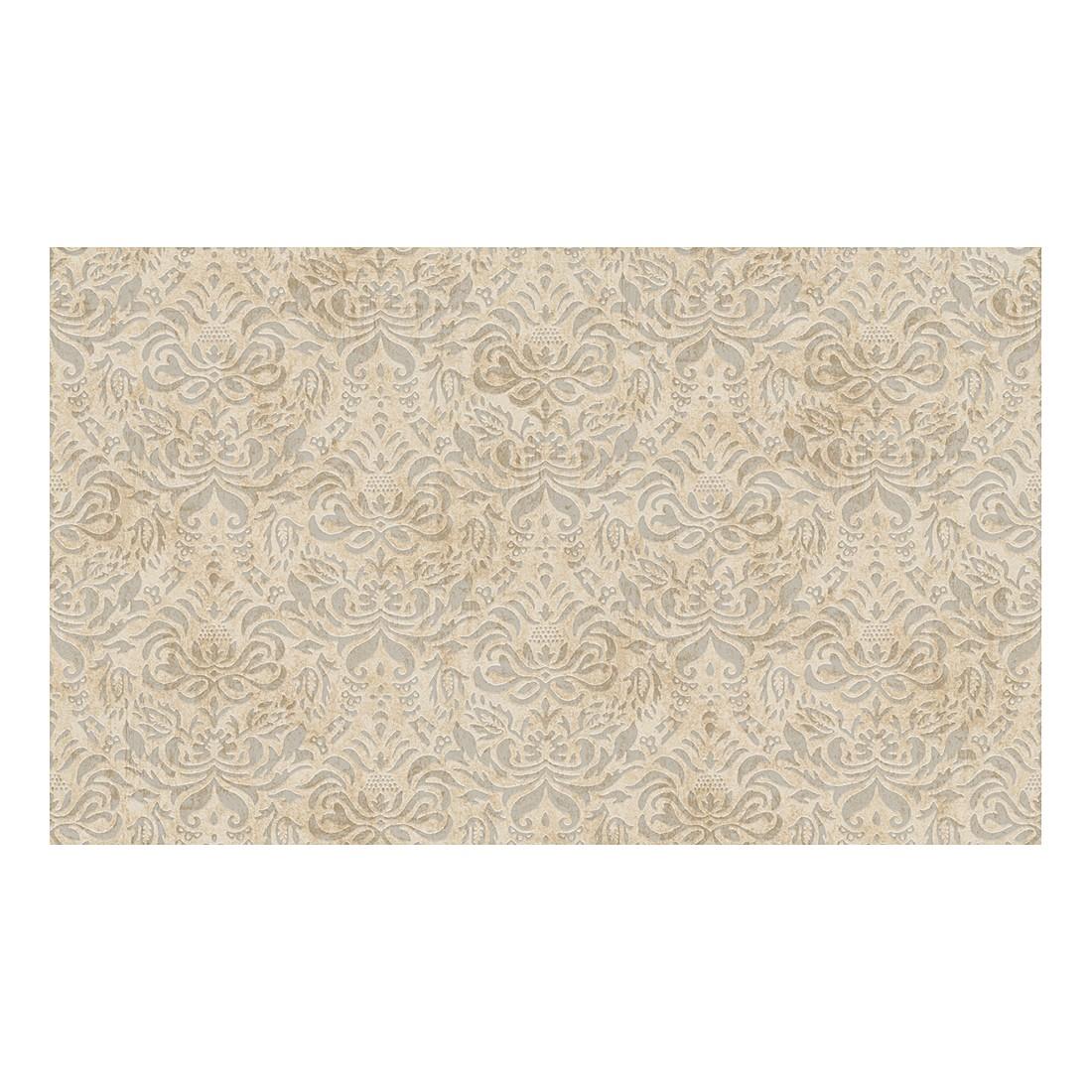 Tapete Bohemian – beige – creme – metallic – strukturiert, Home24Deko günstig kaufen