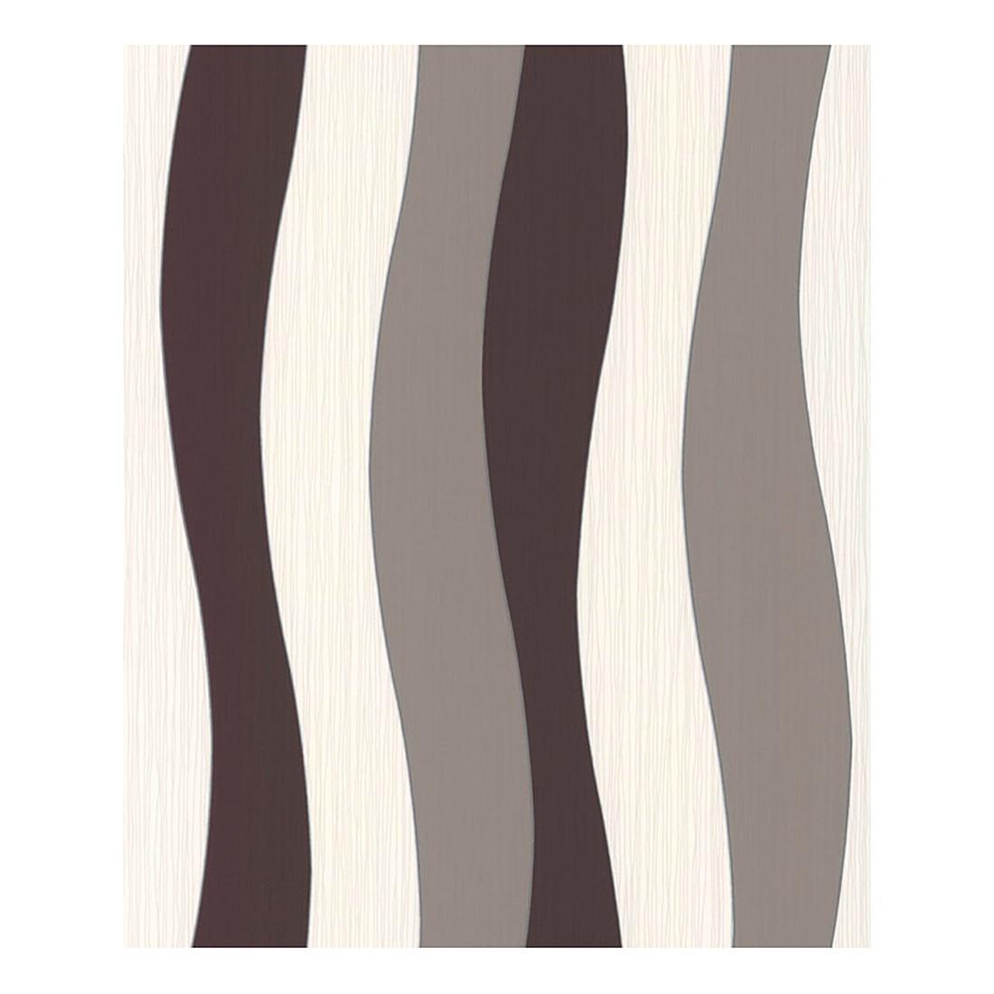 Tapete Daniel Hechter – creme – schokoladenbraun – beigegrau – fein strukturiert – Modell 1, Daniel Hechter günstig