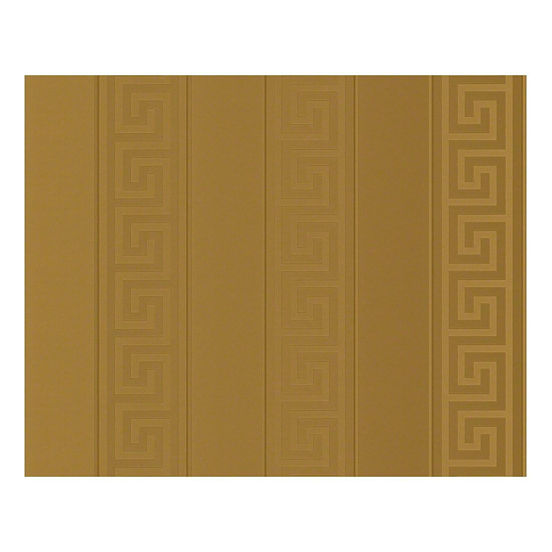 Tapete Greek – goldfarben – fein strukturiert – glatt – Modell 1, VERSACE Home online bestellen