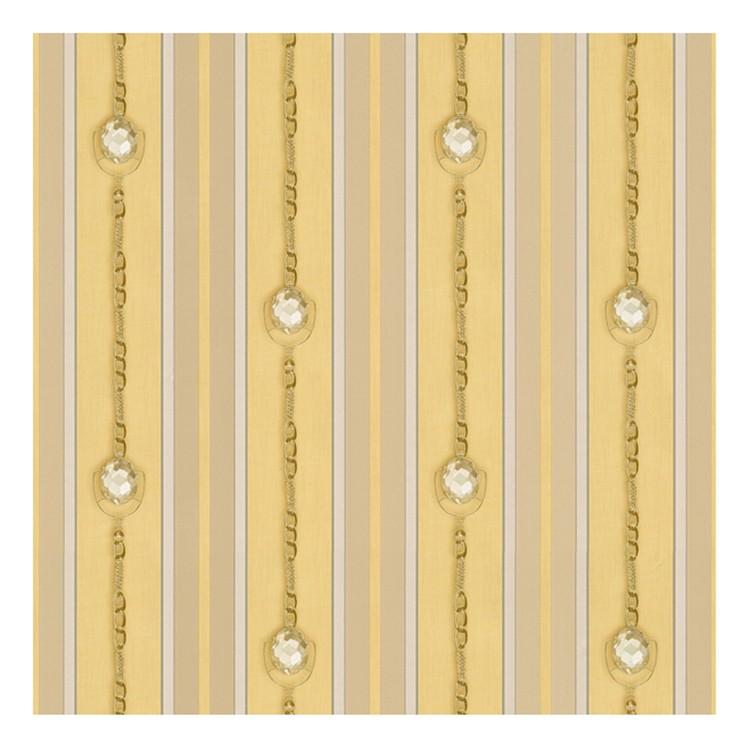 Tapete Hermitage – beige, goldfarben, metallic – glatt, Home24Deko günstig online kaufen