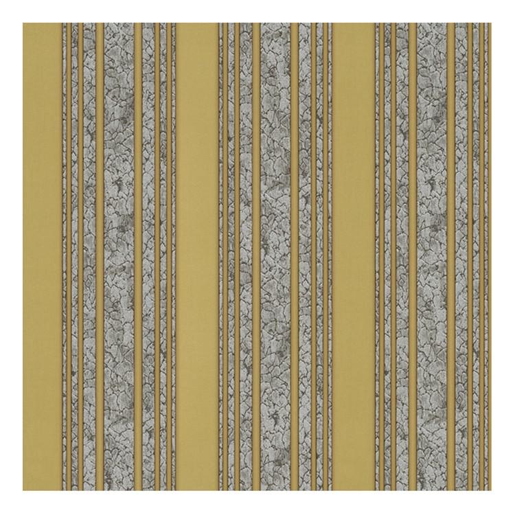 Tapete Hermitage – sandgelb, granitgrau, silberfarben, metallic – glatt – Modell 2, Home24Deko kaufen