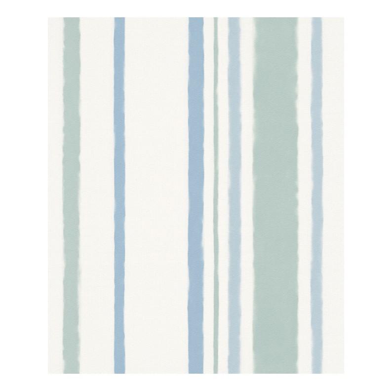 Tapete Stockholm – siganlweiß, pastellblau, minttürkis – fein strukturiert – glatt, Esprit Home günstig