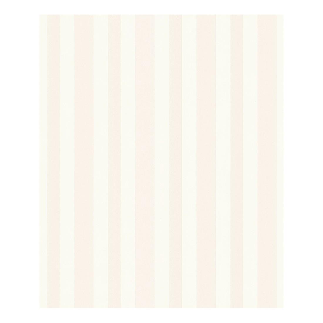 Tapete Stripe – signalweiß – verkehrsweiß – metallic – fein strukturiert – glatt – Modell 1, Porsche Design Studio jetzt kaufen