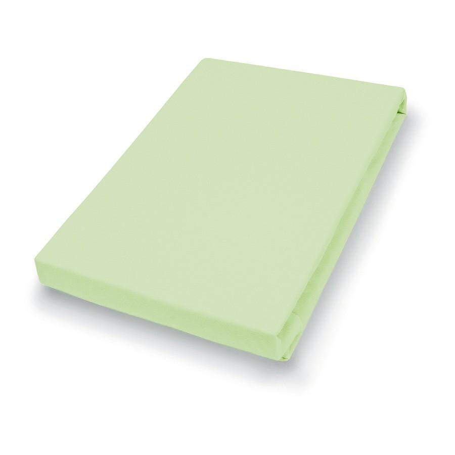 Teddy-Flausch-Spannbetttuch – Limone – 90-100 x 200 cm, vario günstig kaufen