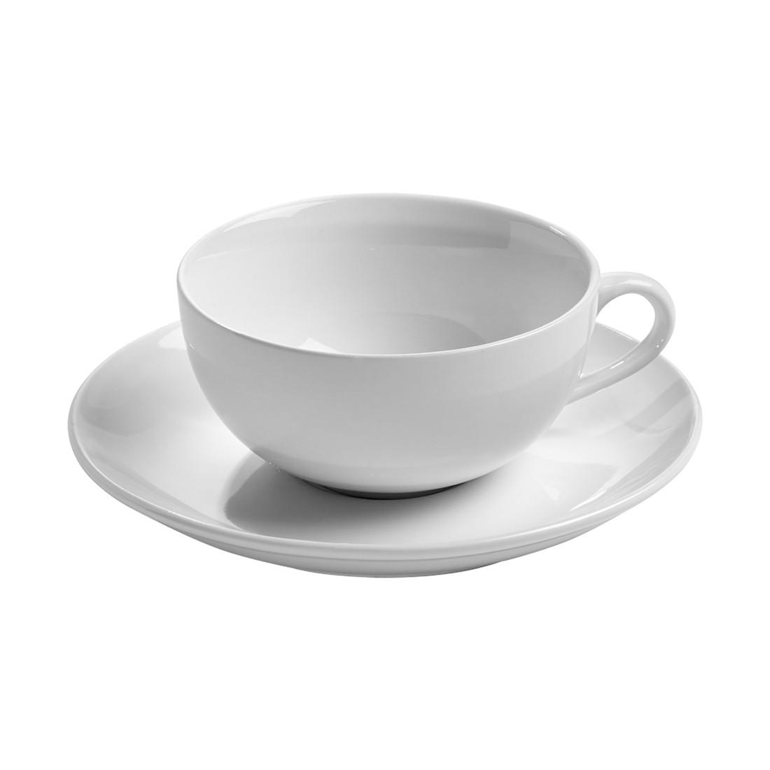 Teetasse mit Untertasse InfusionsT – Porzellan Weiß, Maxwell und Williams günstig