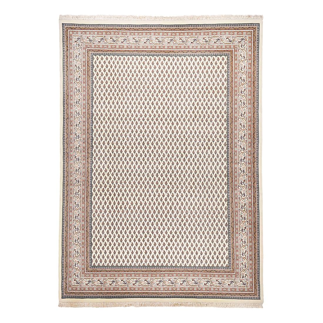 Teppich Abbas Meraj Mir - Wolle/Creme - 200 cm x 300 cm, Theko die markenteppiche