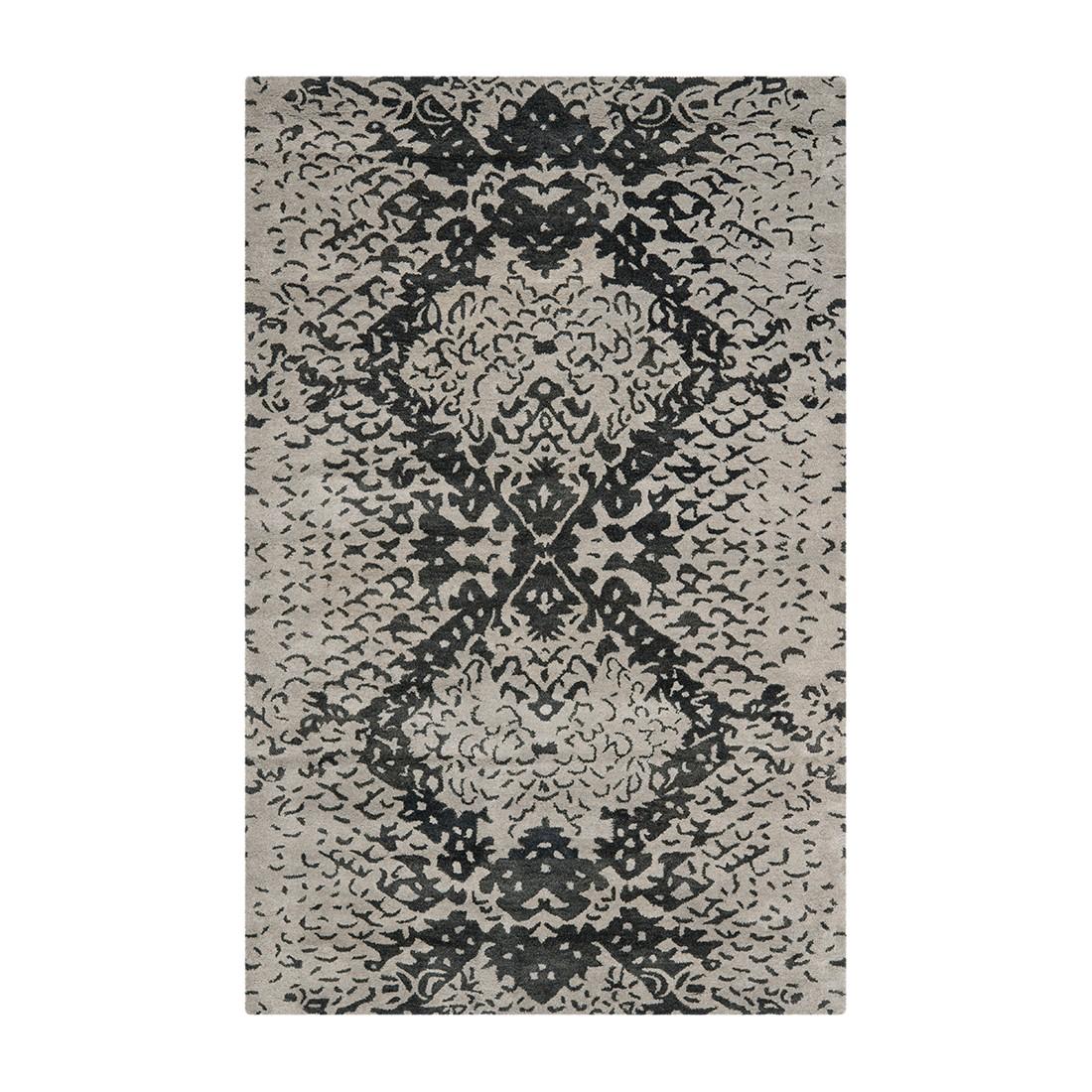 teppich farbe schwarz grau preis vergleich 2016. Black Bedroom Furniture Sets. Home Design Ideas