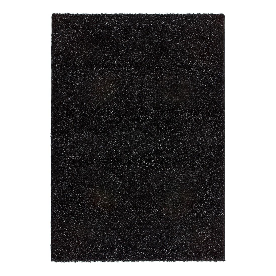Teppich Angola – Luanda – Schwarz – 80 x 150 cm, Kayoom günstig online kaufen
