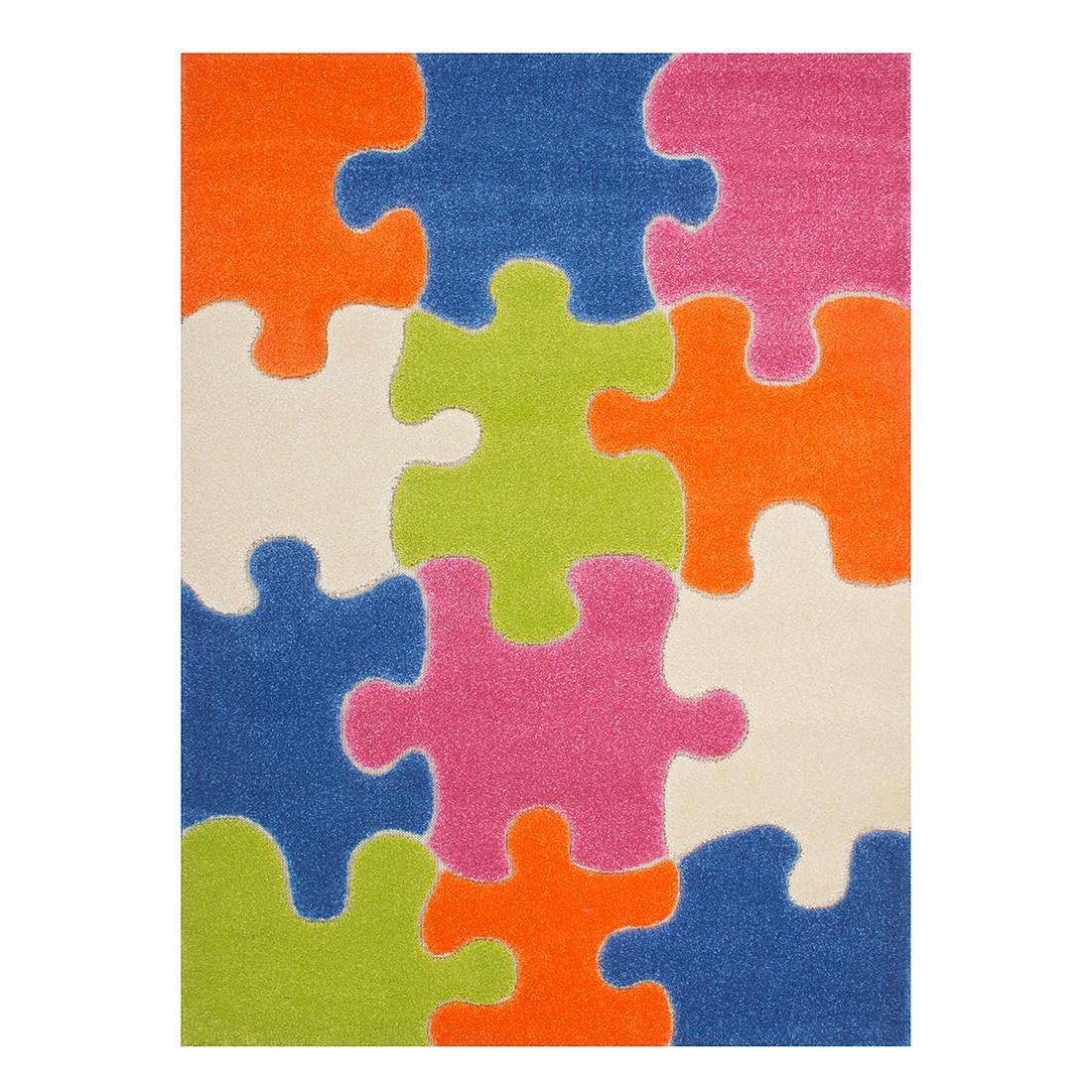 Kinderteppich Puzzle – Multicolor – 100 x 150 cm, Kayoom günstig
