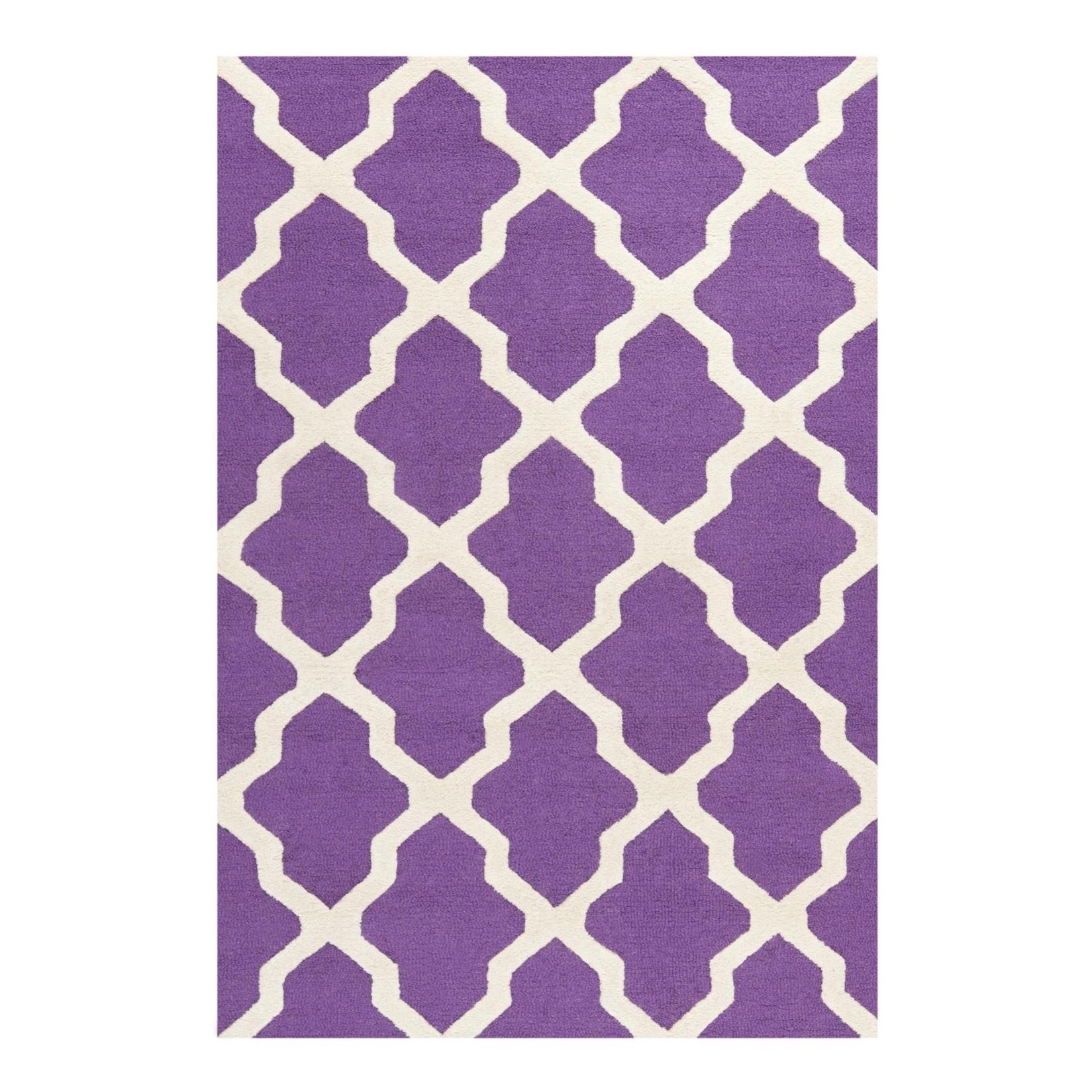 Teppich violett preis vergleich 2016 for Design versandhaus