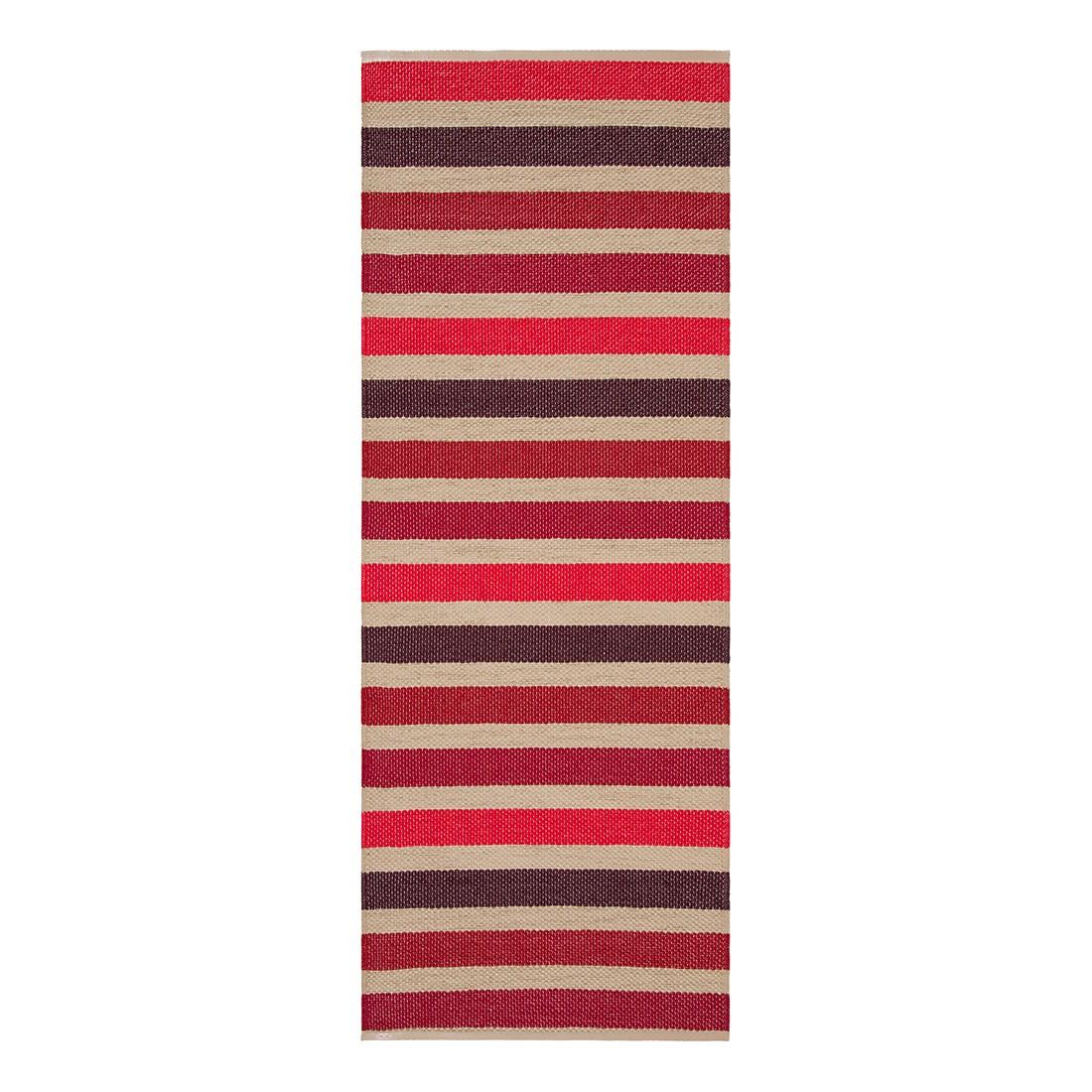 In-/Outdoorteppich Baia I – Kunstfaser Rot/Beige – 60 x 120 cm, Swedy kaufen