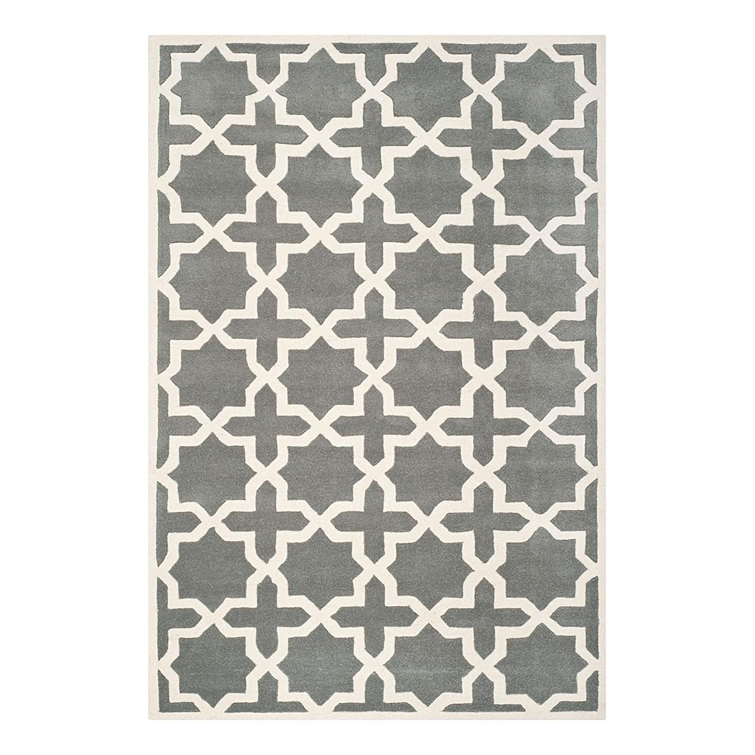 Teppich Barrow – Dunkelgrau/Elfenbein, Safavieh günstig kaufen