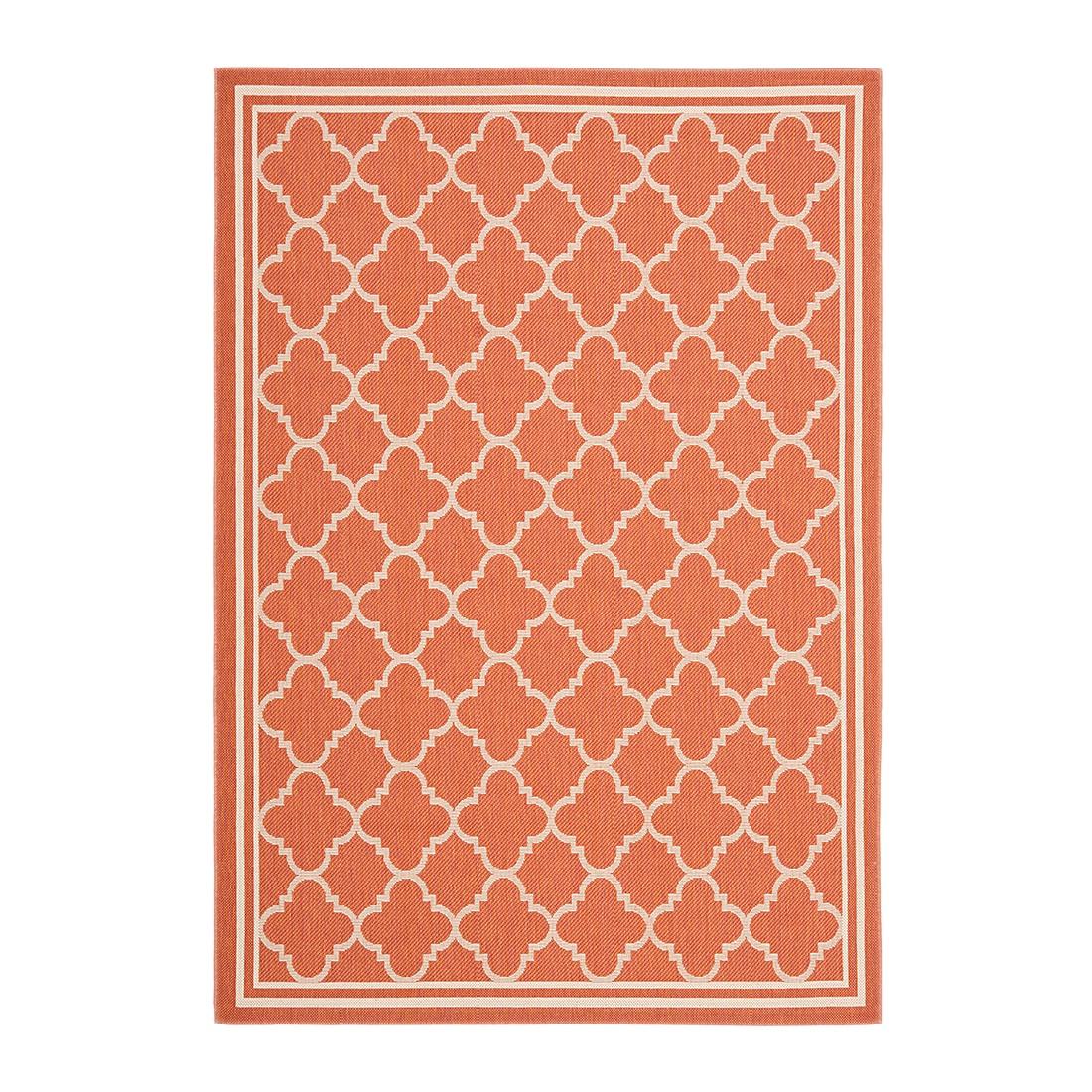 In-/Outdoorteppich Bleeker – Terracotta/Creme – Maße: 60 x 109 cm, Safavieh online bestellen