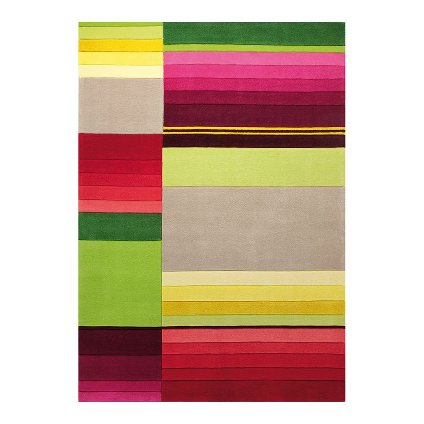 Teppich Block Pattern – Multicolor – Maße: 200 x 200 cm, Esprit Home günstig online kaufen
