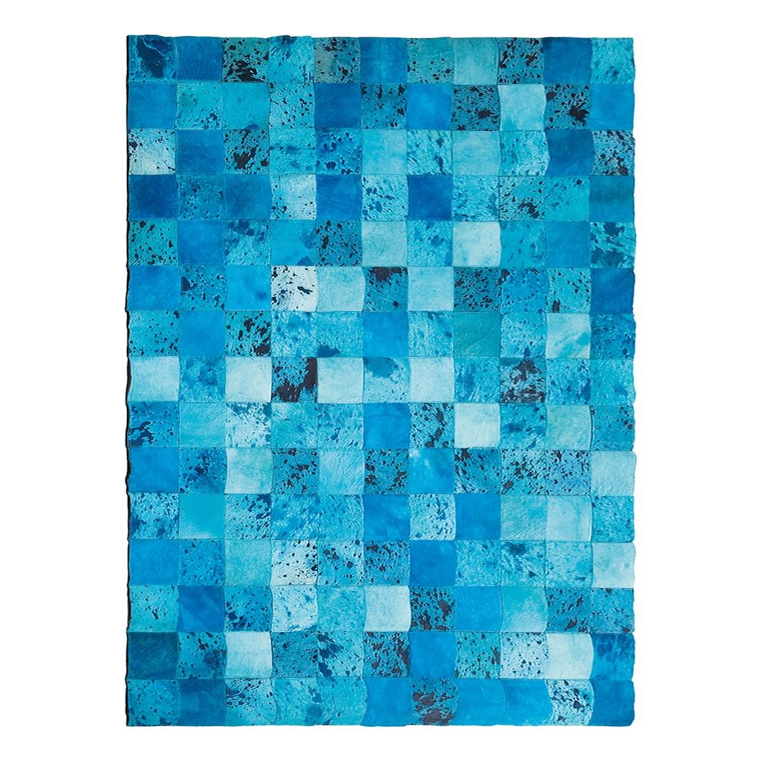 Teppich Blue Water Fur – Kuhfell Blau, Kare Design online bestellen