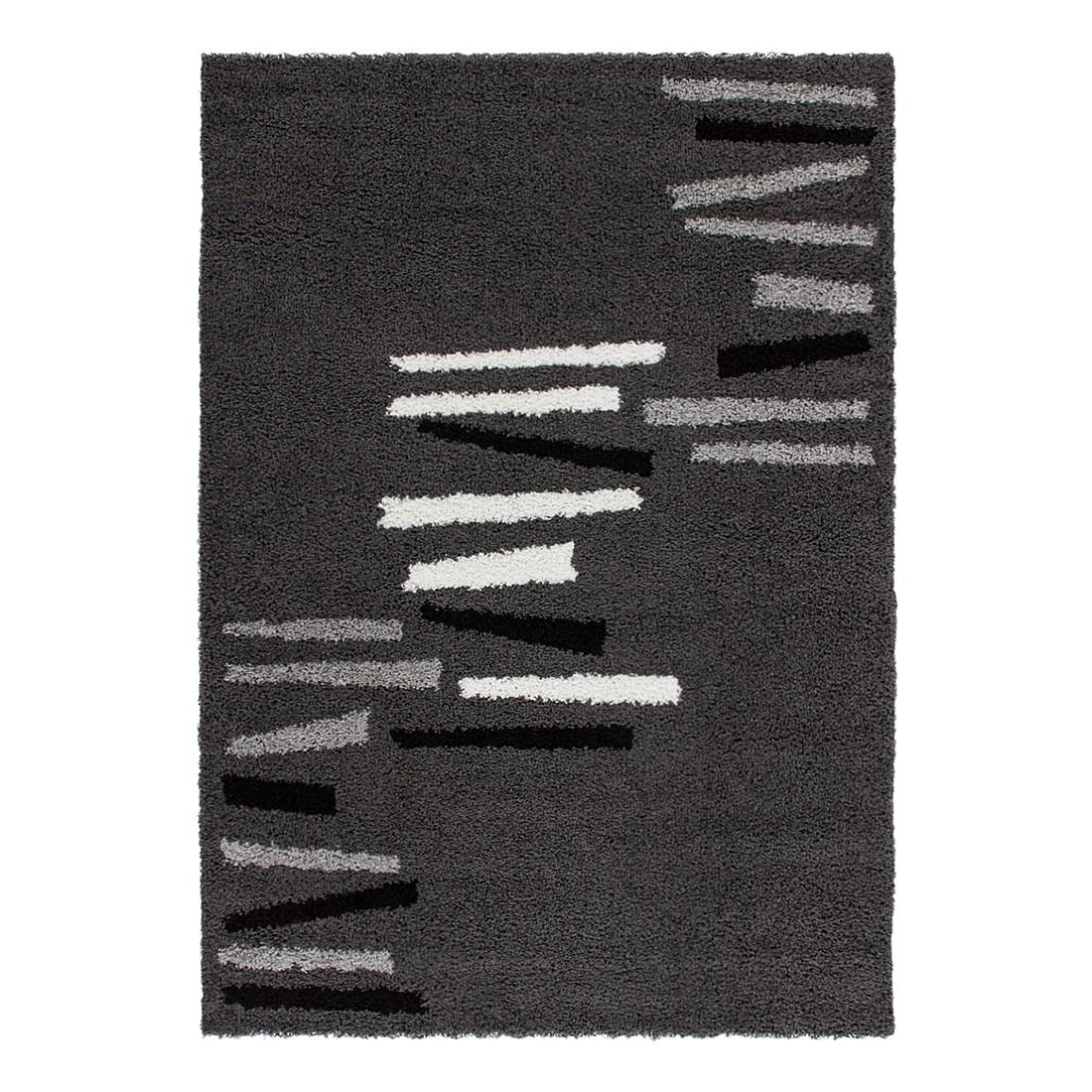 Teppich Bolivia – La Paz – Grau – 200 x 290 cm, Kayoom online kaufen