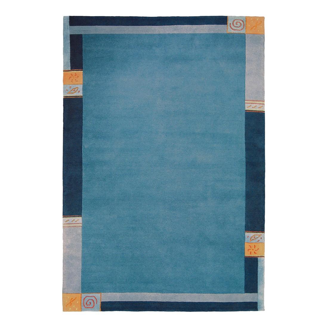 Teppich Bordo – Blau – 90 x 160 cm, Luxor living günstig online kaufen