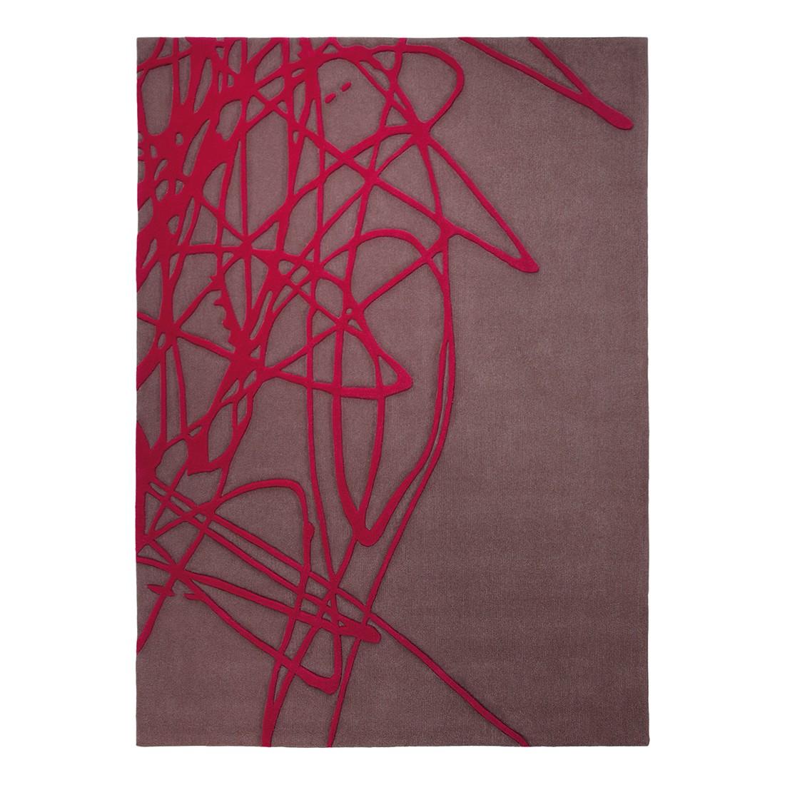 Teppich Brainstorm - Wolle/Taupe - Maße: 200 cm x 300 cm, Esprit Home