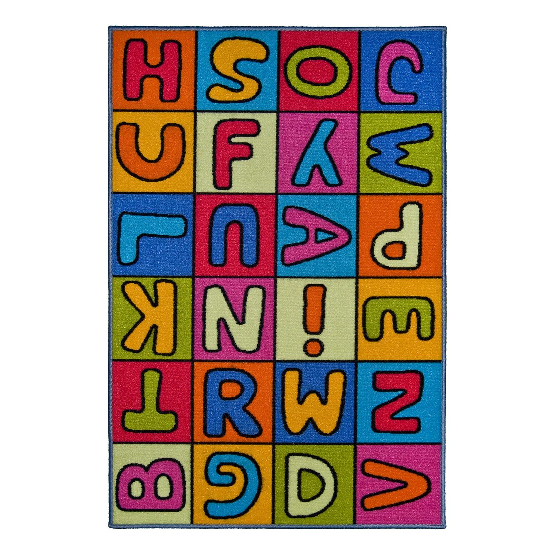 Kinderteppich Buchstaben, andiamo