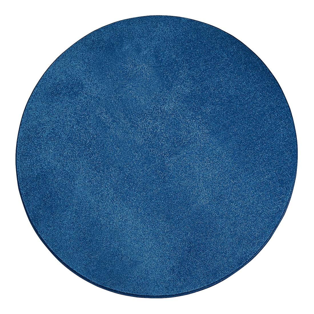 Teppich Burbon – Blau – Durchmesser: 160 cm, Testil online kaufen
