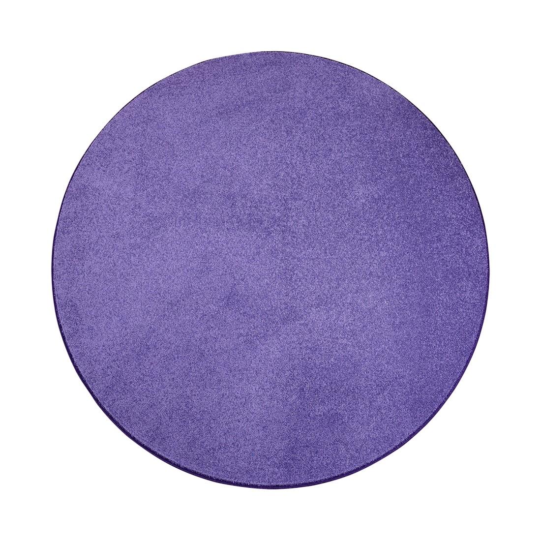 Teppich Burbon – Flieder – Durchmesser: 100 cm, Testil online bestellen