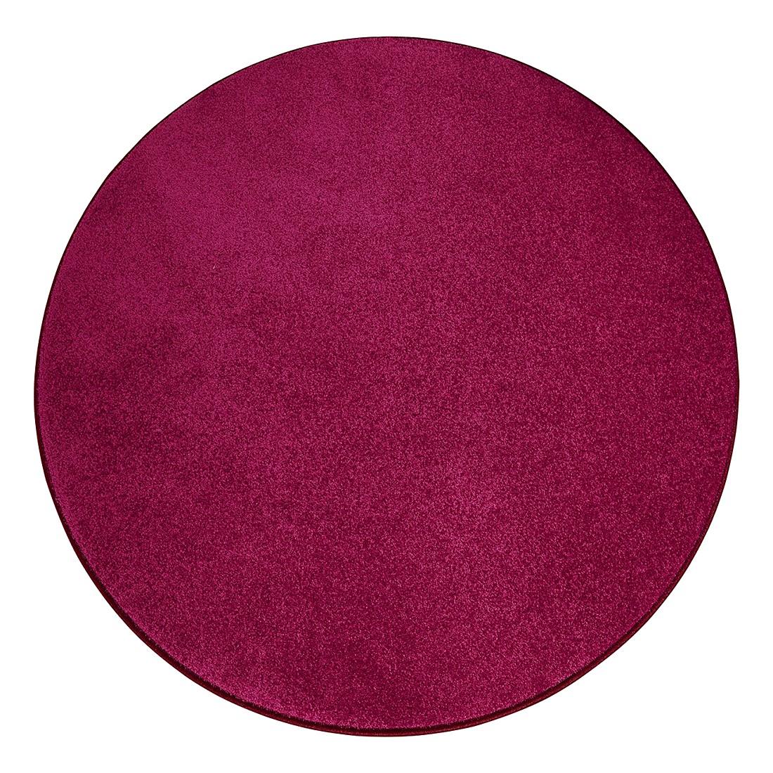 Teppich Burbon – Himbeere – Durchmesser: 180 cm, Testil jetzt bestellen