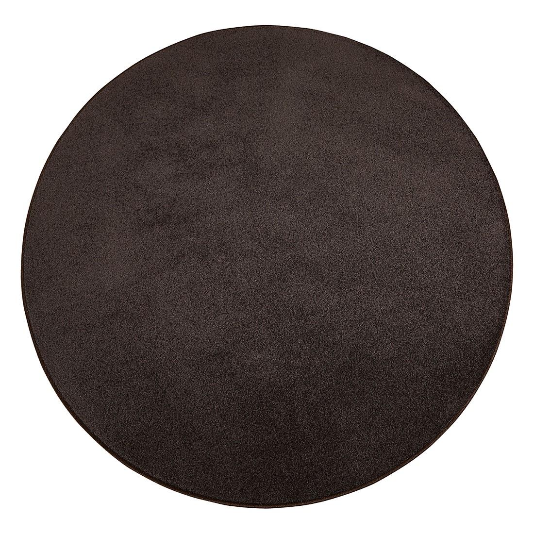 teppich burbon schoko durchmesser 100 cm testil g nstig bestellen. Black Bedroom Furniture Sets. Home Design Ideas