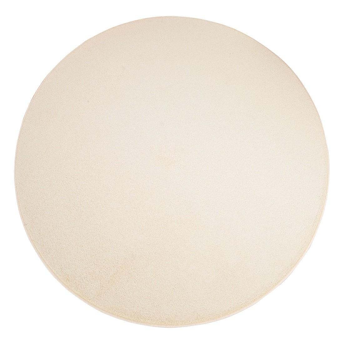 Teppich Burbon – Weiß – Durchmesser: 160 cm, Testil günstig kaufen