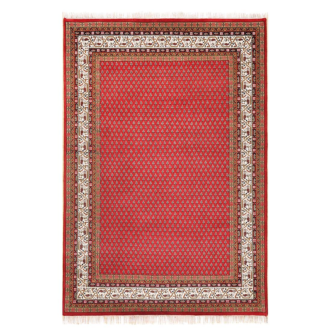 Teppich Chandi Mir - Wolle/Rot - 250 cm x 350 cm, Theko die markenteppiche