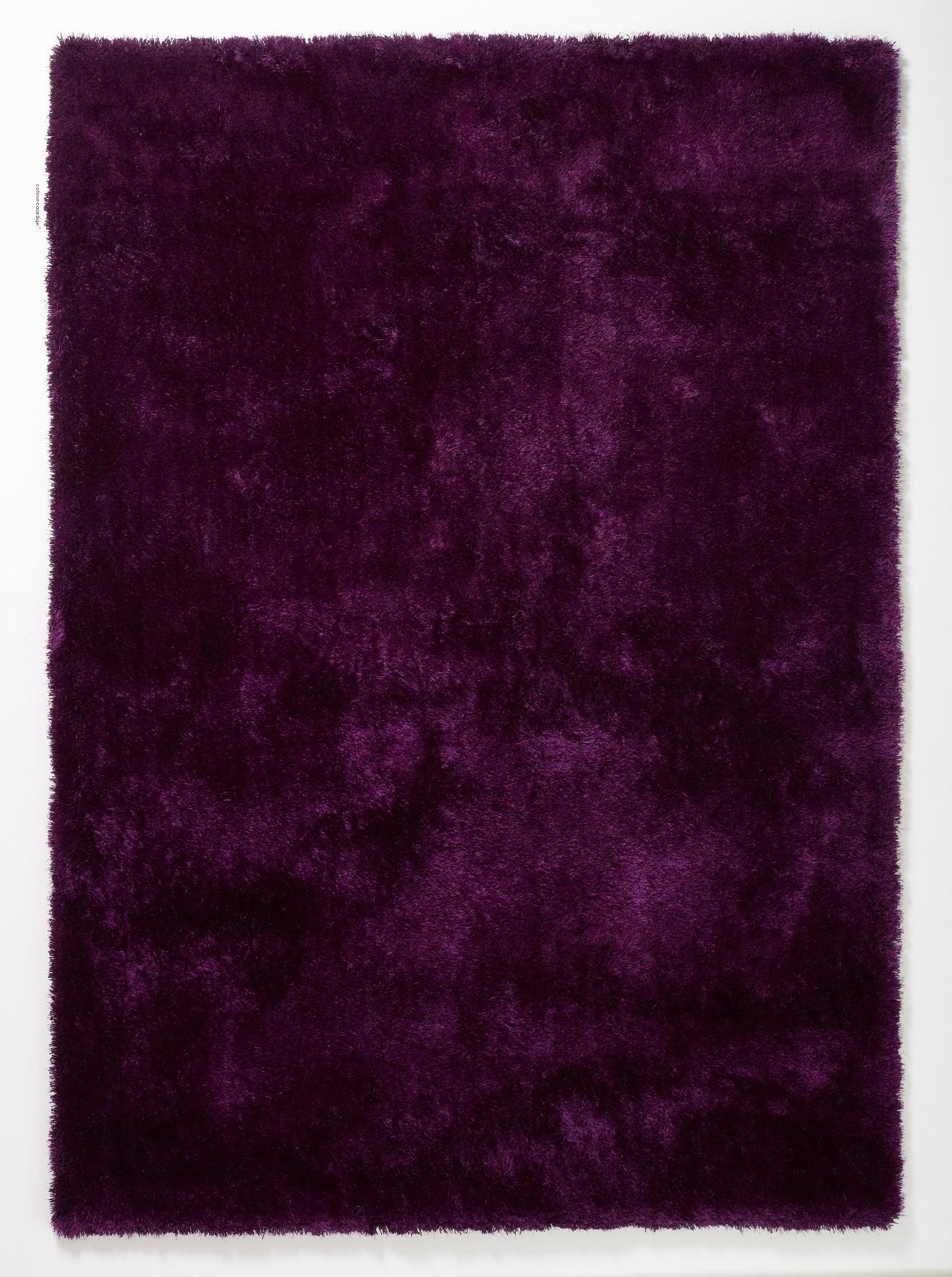 Teppich Aubergine – Lila – 140 x 200 cm, Colourcourage bestellen
