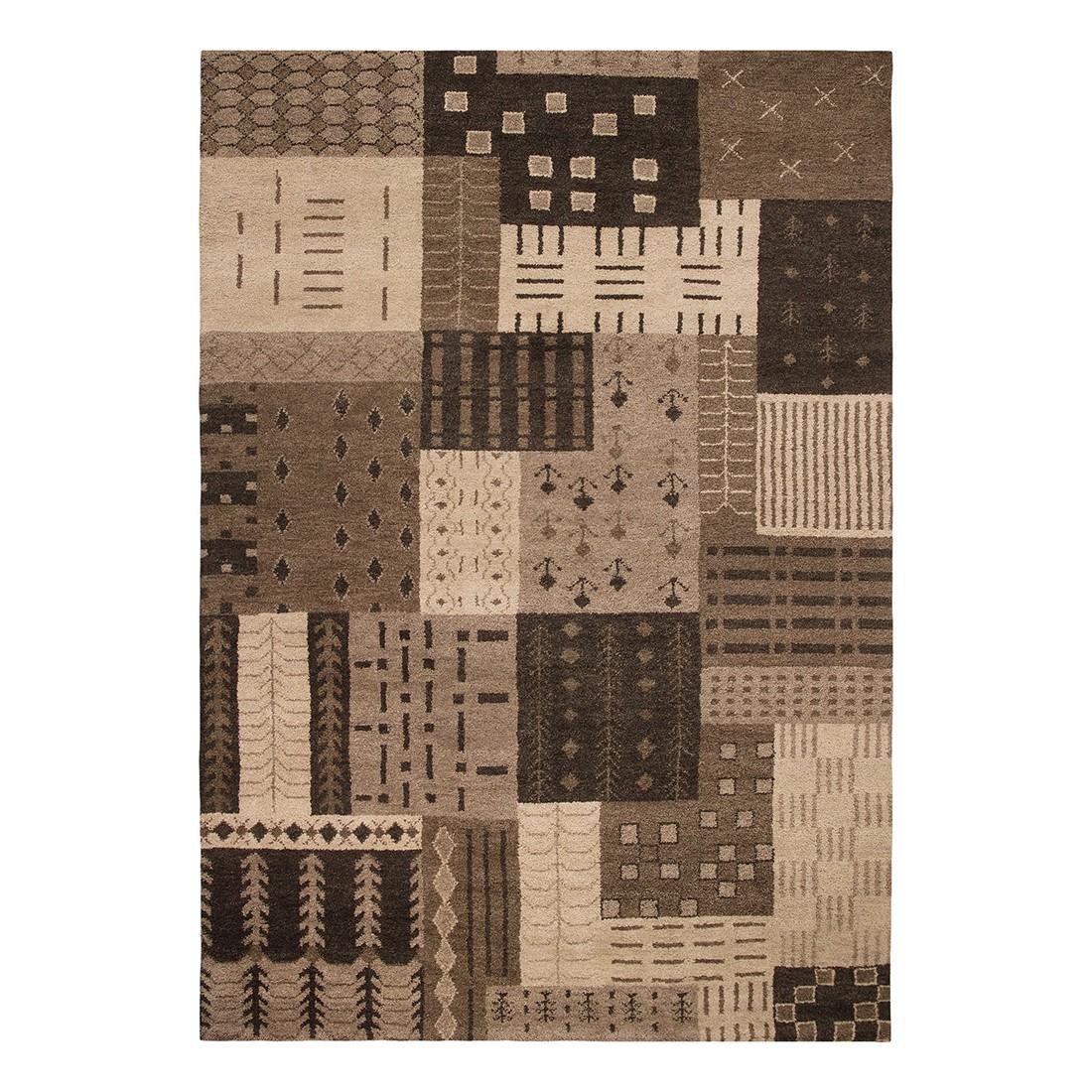 Teppich Cordoba – Wolle/ Schoko – 120 cm x 180 cm, Luxor living günstig online kaufen