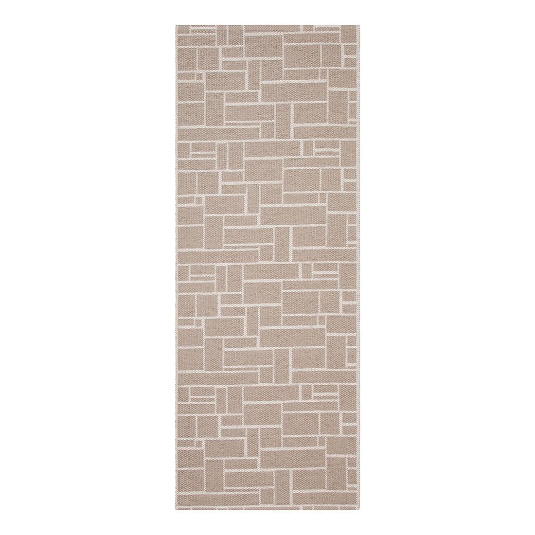 In-/Outdoorteppich Dama I – Kunstfaser Trüffel- Braun/Beige – 60 x 200 cm, Swedy kaufen