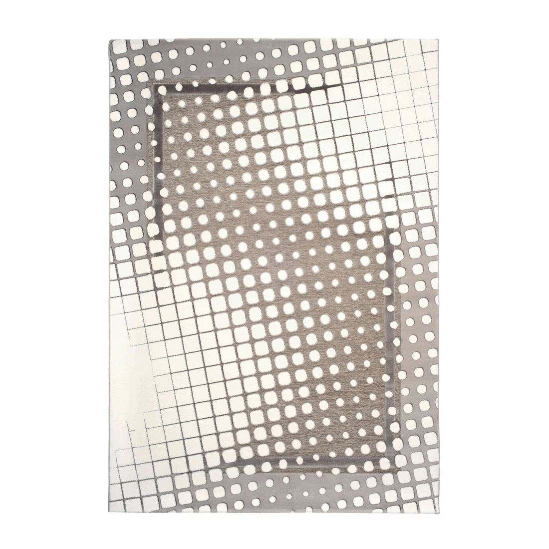 Nano Teppich Damla Dama – Grau – Maße: 80 x 300 cm, Kayoom günstig online kaufen