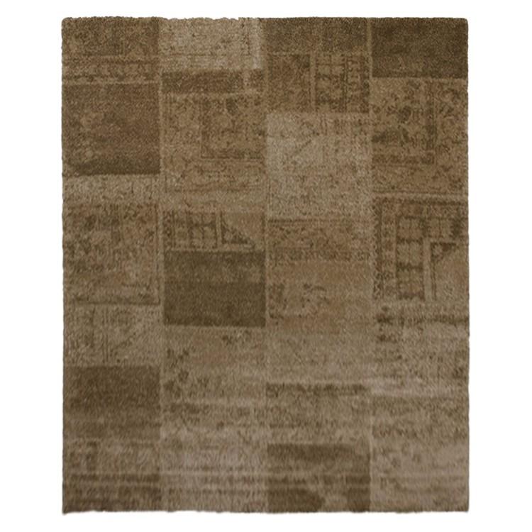 Teppich Patchwork Design - Beige - 120 x 170 cm Home24 Deko