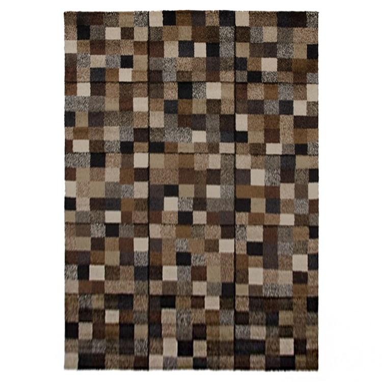 Teppich Design Mosaik – Braun – 140 x 200 cm, Home24Deko jetzt bestellen