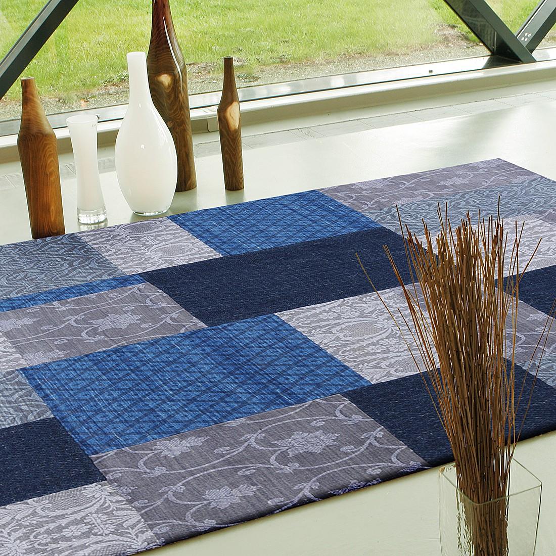 Teppich Easy Sunset – Wolle/Blau – 170×240 cm, Brigitte Home jetzt kaufen