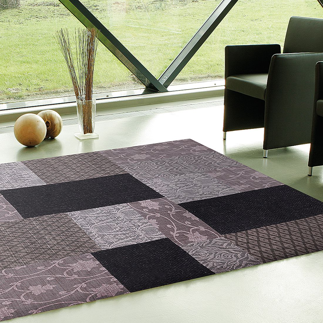Teppich Easy Sunset – Wolle/Grau – 70×140 cm, Brigitte Home kaufen