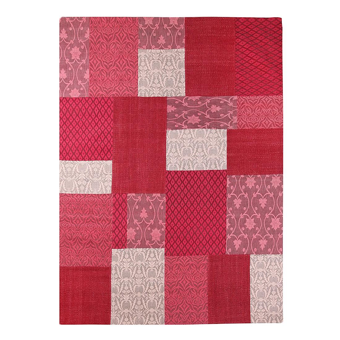 Teppich Easy Sunset – Wolle/Rot – 70×140 cm, Brigitte Home günstig online kaufen