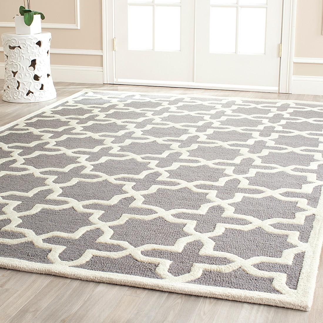 Teppich Elle – Silber/Elfenbein – Maße:  152 x 243  cm, Safavieh online bestellen