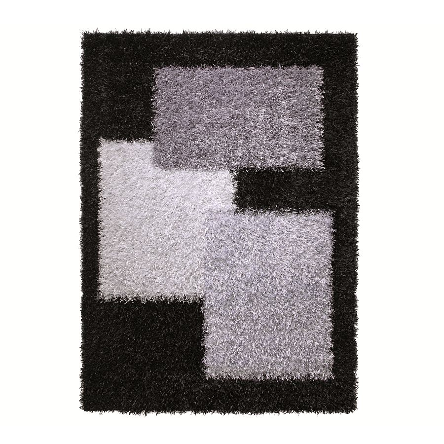 Teppich ESPRIT Cool Glamour – Schwarz/Anthrazit – 120 x 180 cm, Esprit Home günstig kaufen