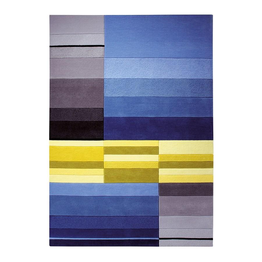 Teppich ESPRIT Split Blau – 70 x 140 cm, Esprit Home günstig online kaufen
