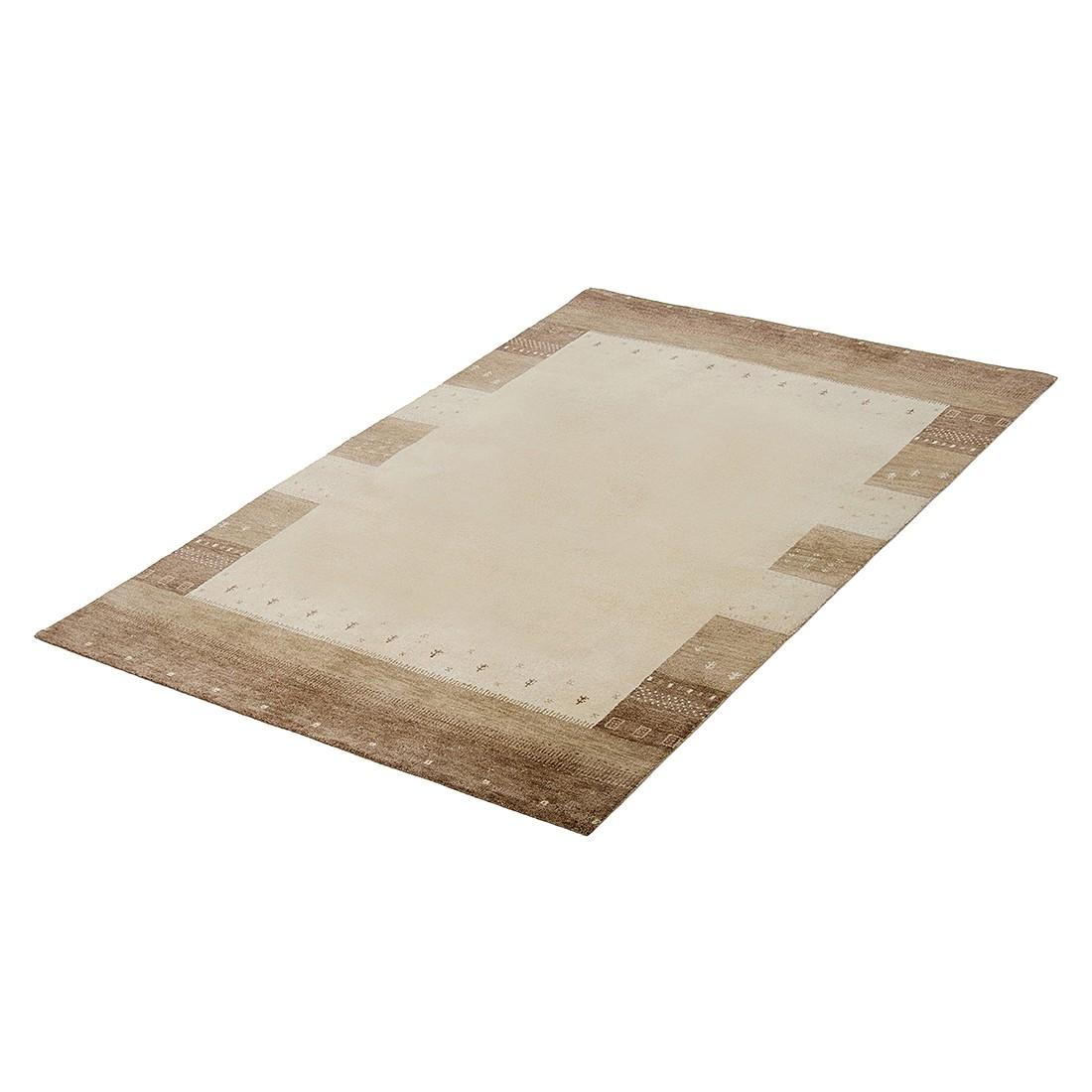 Teppich Ferrol Gabbeh – Camel – Maße: 60 x 40 cm, Parwis günstig kaufen
