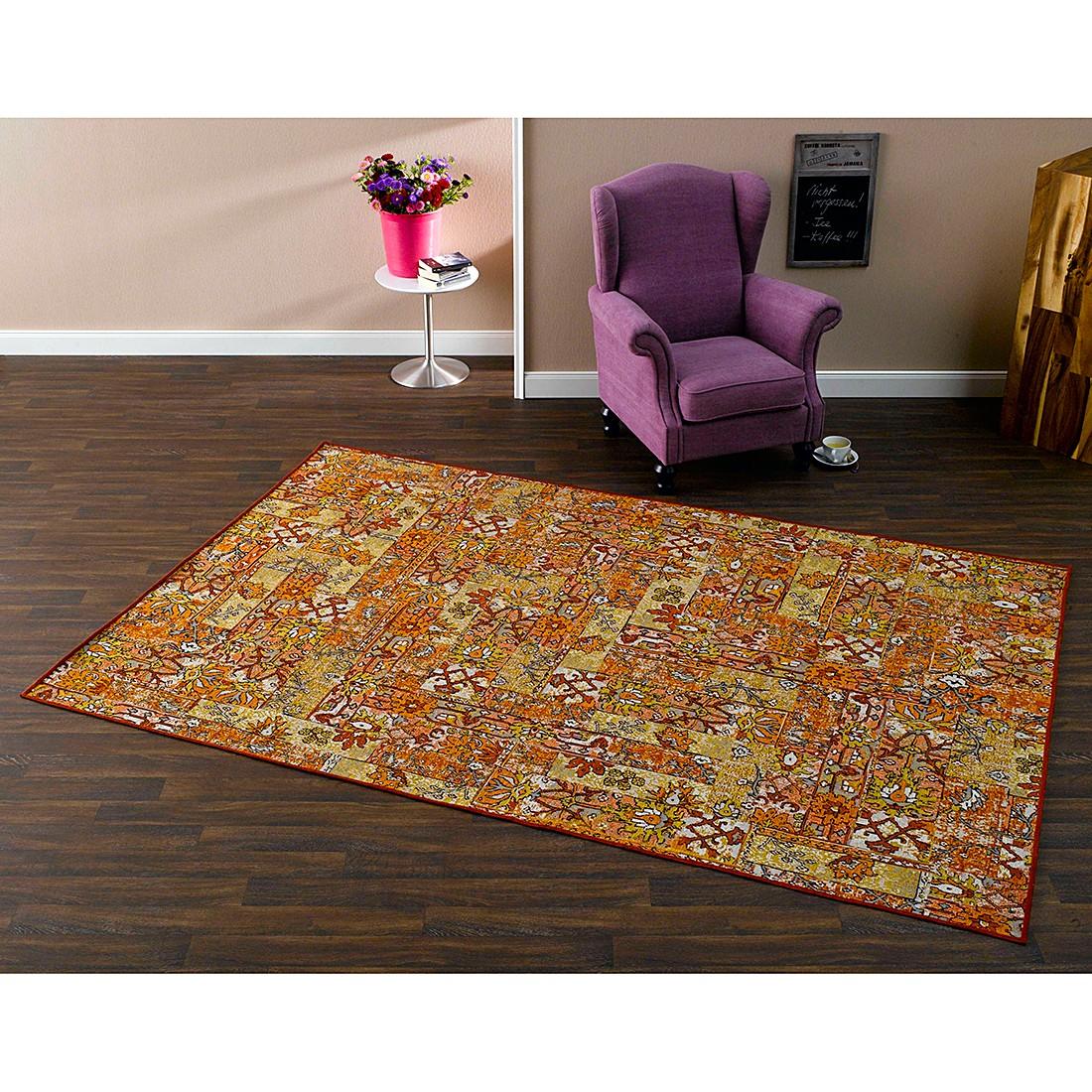 Teppich Floral – Rot / Orange – 140 x 200 cm, Schöngeist & Petersen bestellen