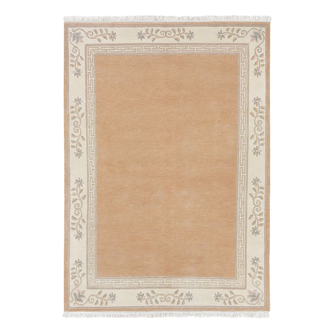 Teppich Floral - Apricot - 170 x 240 cm, Luxor living