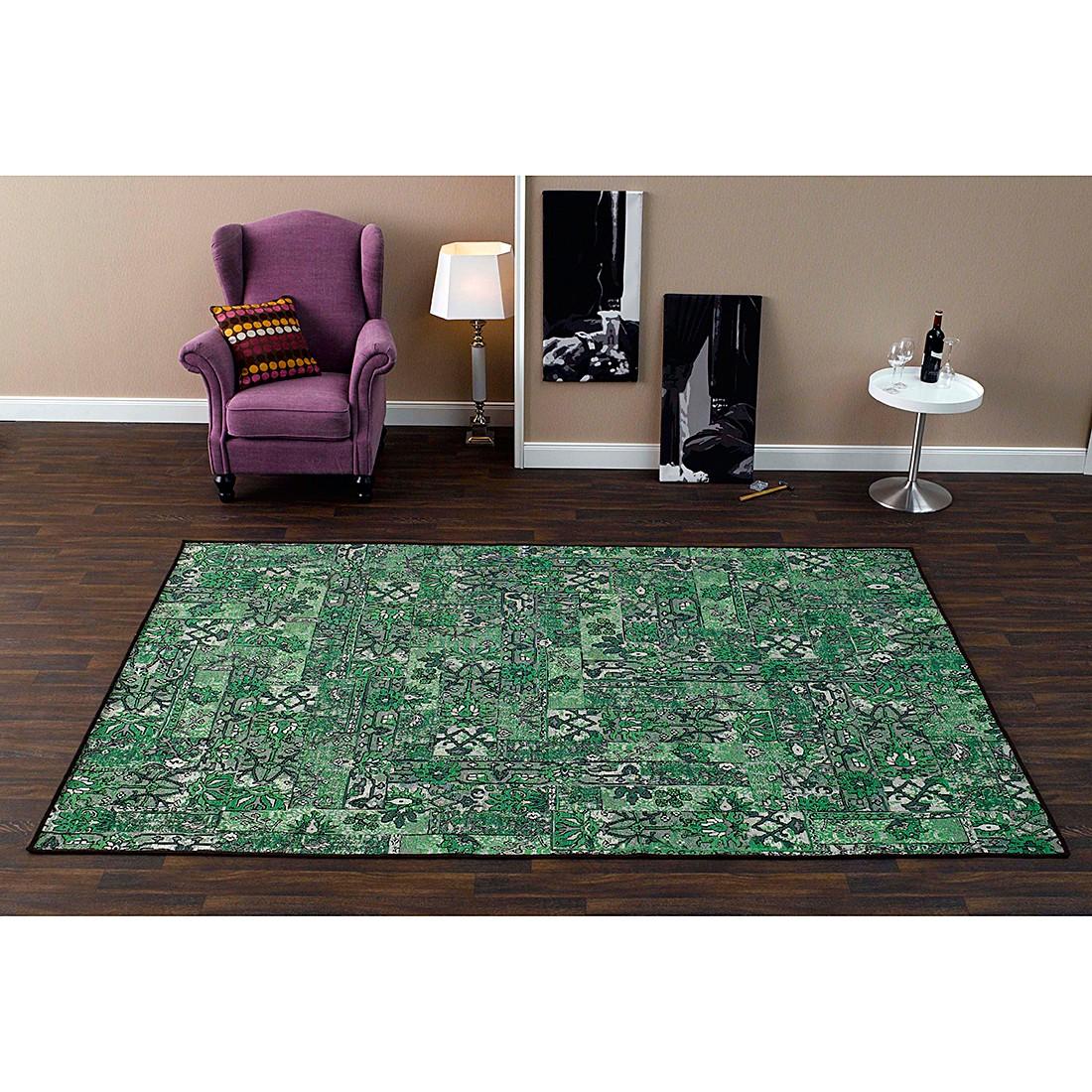 Teppich Floral – Grün – 200 x 300 cm, Schöngeist & Petersen kaufen